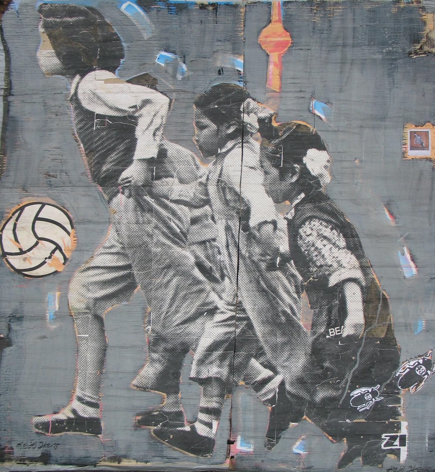 streetart berlin running